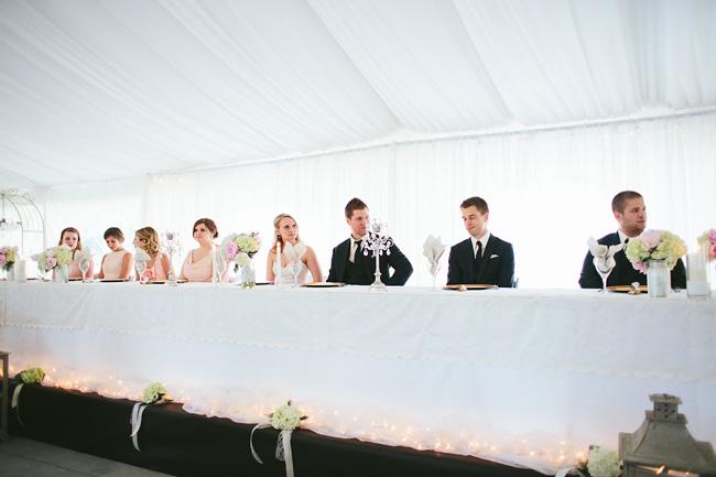 abbotsford tent wedding reception