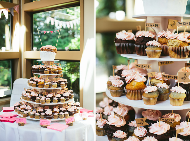 Cupcake Tower by Clever Cupcakes