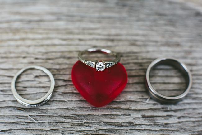 Candy Wedding Ring Shot