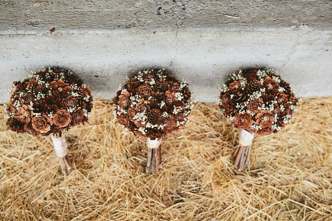 Pinecone Bouquet DIY