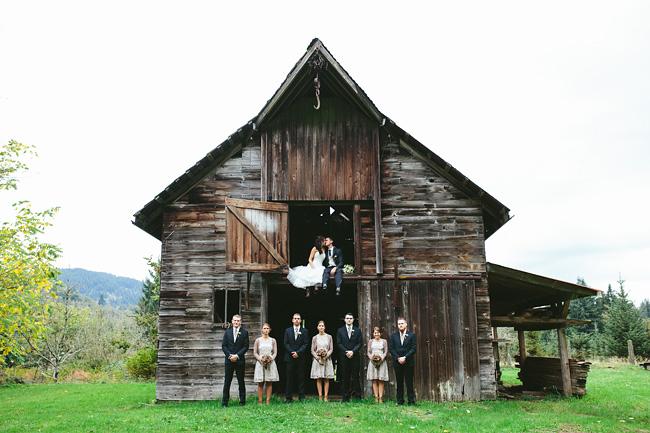 Abbotsford Barn Wedding Photos