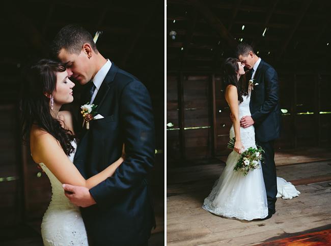 Barn loft wedding photos