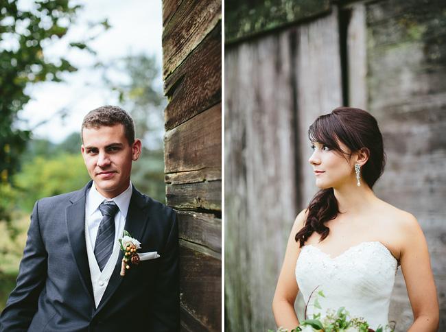 Mission Farm Wedding Photos