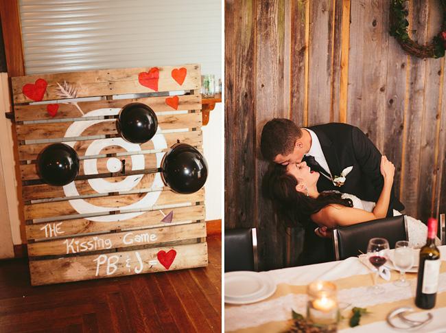 Wedding Kissing Dart Game