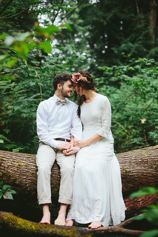 Bohemian Forest Wedding British Columbia