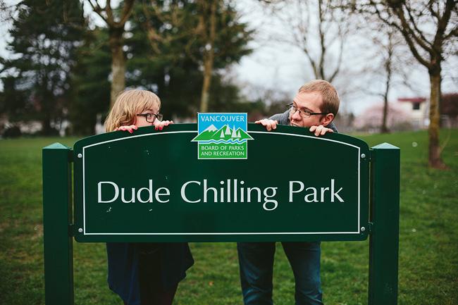 Dude Chilling Park Vancouver
