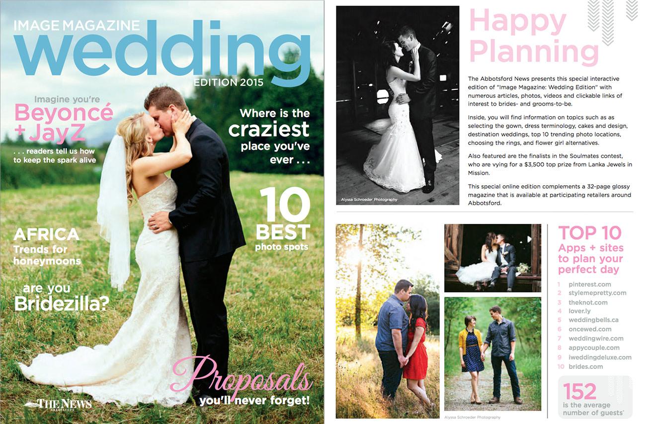 Abby News Wedding Magazine Feature