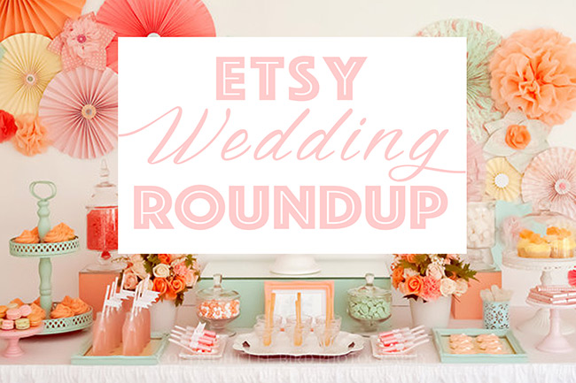 Etsy Canada Wedding Roundup