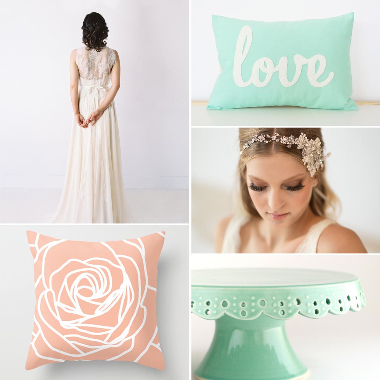 Spring Etsy Wedding Finds from Alyssa Schroeder