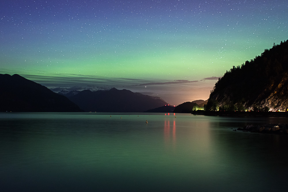 Porteau Cove Northern Lights