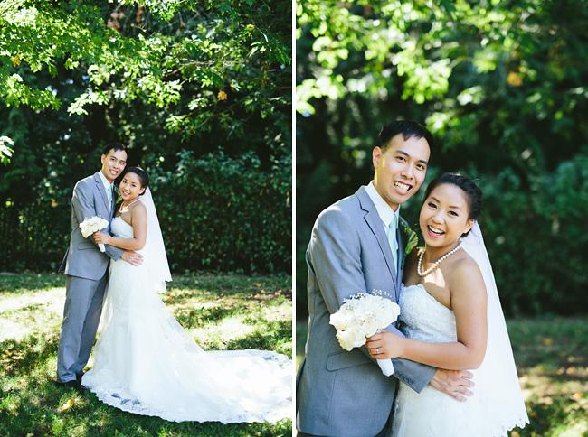 Formal Bridal Portrait at Deer Lake