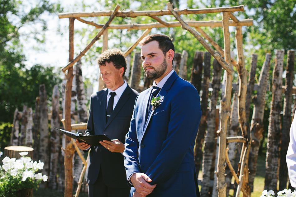 Outdoor Rustic Manitoba Wedding