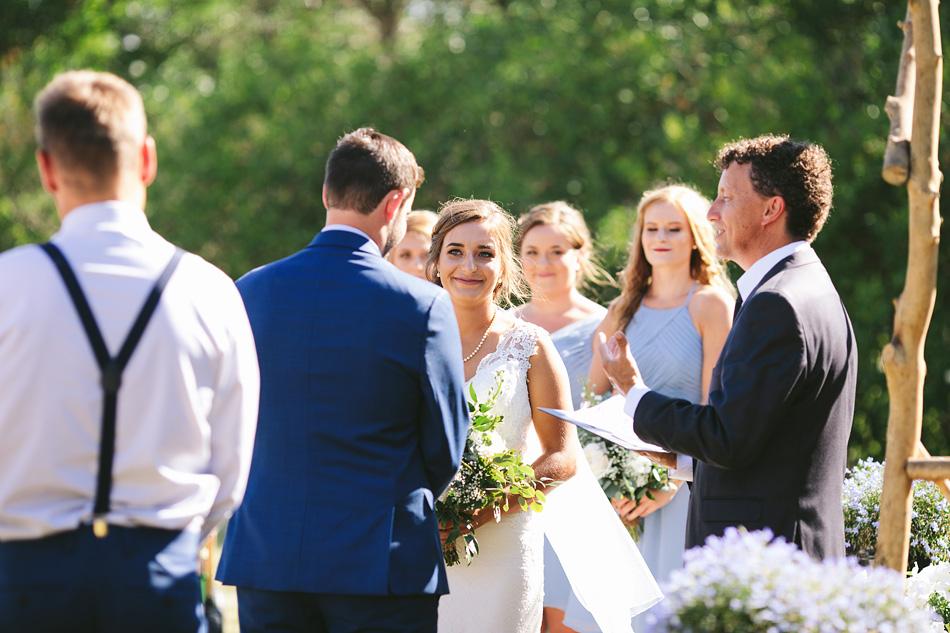 Summer Outdoor Manitoba Wedding