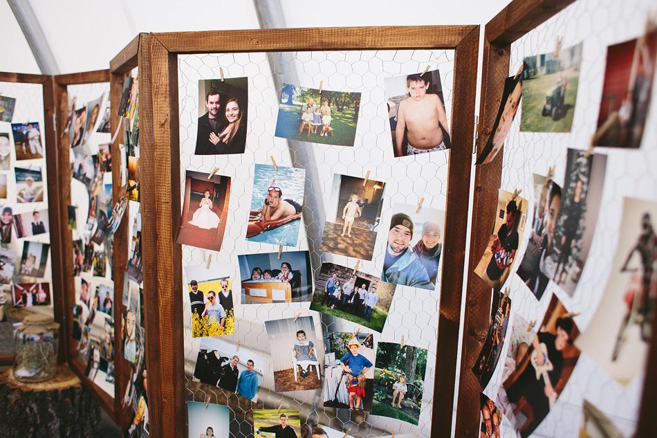 Reception Photo Wall Decor